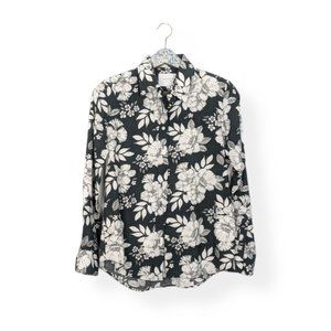 The Shirt by Rochelle Behrens Floral Button Down